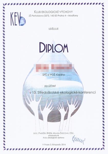 Diplom KEV