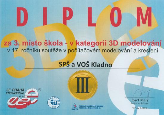 Diplom 3D modelování