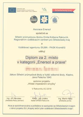 Diplom Enersol a praxe