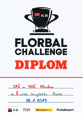 Diplom florbal
